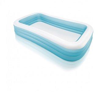 Familie zwembad opblaasbaar blauw