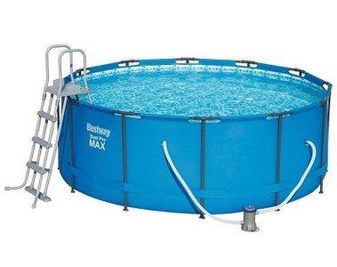 Bestway opzetzwembad 122 cm hoog!