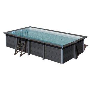 Rechthoekig composiet zwembad