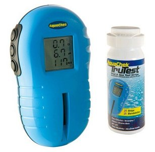 Digitale testset zwembadwater