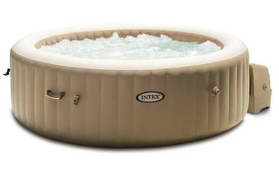 Intex Purespa bubble beige