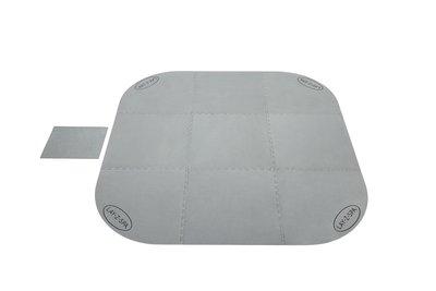 lay-z-spa grijze ondervloer