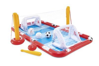 Voetbal, vollybal en softbal waterspel